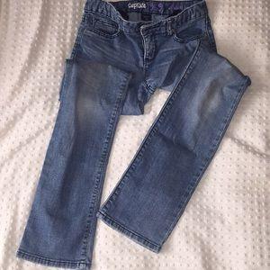 GapKids straight legged blue jeans girls size 10